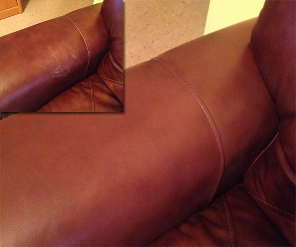 Leather Scratch Repair