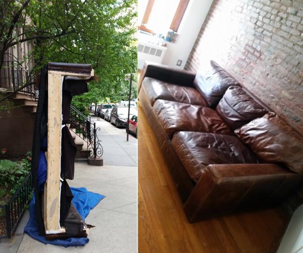 Sofa assembling