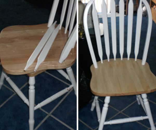 outdoor chair repair